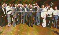 Εγκαίνια Δασικού Δρόμου-Ταρατσόλακκα, 1979